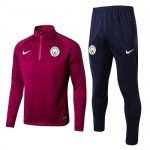 Sudaderas Ninos Manchester City 2017 2018 High Red