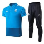 Polo Real Madrid Solapa Azul 2019