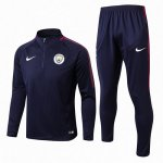 Sudaderas Manchester City 2017 2018 Navy Blue