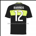 Camiseta Boca Juniors Barrios 12 Primera 2016/2017